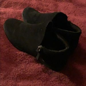 Steve Madden Women's Suede Ankle ZIP Boot Size 6.5